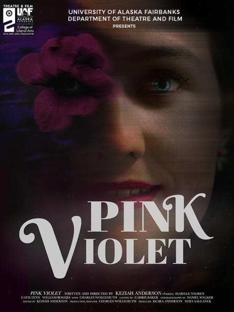 Pink Violet the Film Movie Poster